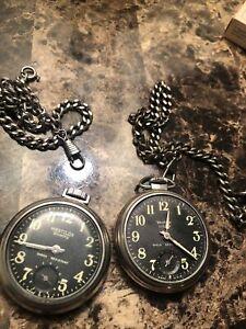 Vintage Westclox Scotty Pocket Watch Lot
