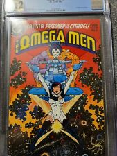 OMEGA MEN #3 CGC 9.2 OFF WHITE TO WHITE PAGES   1ST APPEARANCE LOBO