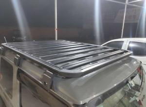 For 2019 2020 2021 Suzuki Jimny Roof Rack Basket Cargo Luggage Carrier Bar BLACK