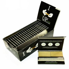 I r*ll U*P HEMP Rolling Papers 77*45mm 22 Booklets=880 leaves W TIPS smoking