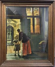 Boy With Pomegranates By Pieter De Hooch The Medici Society Dutch Reproduction