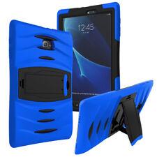 Blue Armor Hybrid Shockproof Heavy Duty Case for Samsung Galaxy Tab E 9.6 T560