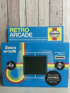 Haynes Retro Arcade ~ Build Your Own ~  Working Classic Arcade Game