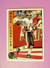 1992 PACIFIC FOOTBALL TRADING CARD #28 - CHICAGO BEARS - MARK CARRIER - MINT