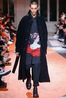 Yohji Yamamoto 18AW Wool Long Coat Size 3 L Excellent condition From JAPAN F/S