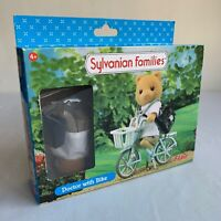 """Sylvanian Families Retired Flair Epoch 4484 """"Doctor With Bike"""" Set 100% Complete"""