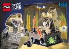 LEGO Studios Set 1383 Curse of the Pharaoh 2002 - New -- No Box -- Mummy Egypt