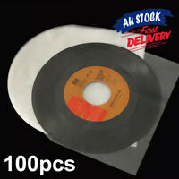 """100pc Sleeves Inner LP Music Durable for 12""""  Vinyl Record Plastic Record Cover"""