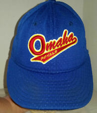 Vintage Omaha Royals Hat New Era Baseball Cap 6 5/8 Fitted 59Fifty