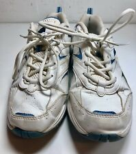 Avia Womens ArchRocker White Leather Sneakers Walking Toning Shoes Size 8.5
