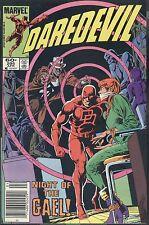 Marvel Daredevil 205 April 1984 Night Of The Gael O'Neil