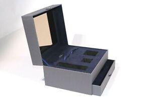 """SCATOLA CONFEZIONE LUSSO - GIFT BOX """"LA PRAIRIE"""" SKIN CAVIAR ORIGINAL (28x24x17)"""