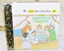 A Little Little Golden Book The Christmans Pageant  Rare Miniature
