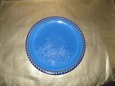 Denby Reflex Blue 2 x 10.5 Inch Dinner Plates First Quality.