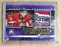 12-13 ITG Heroes Top Prospects Game-Used Patch Emblem Logo RYAN STROME /10