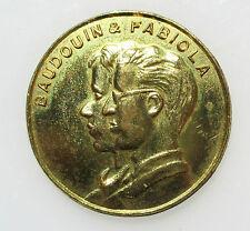 Medaille Baudouin & Fabiola 1960 28mm.