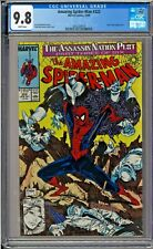 Amazing Spider-Man (1st Series) #322 CGC 9.8 W McFarlane Cover Silver Sable App