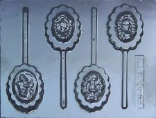 Disney Princess Cameo Chocolate Lollipop Candy Mold #304 - NEW