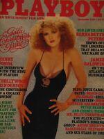 Playboy December 1981 | Bernadette Peters Patricia Farinelli       #FM8994