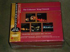 Collectors King Crimson Box 3 1972-74 Japan CD Set sealed