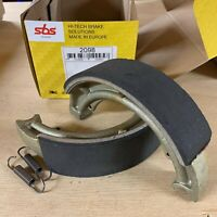 GT 500 / 550 / 750 73 74 75 76 77 SBS Rear Brake Shoes Genuine OE Quality 2098