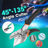 45 To 135 Degree Green Scissors & s Multi Angle Miter Cutter Hand