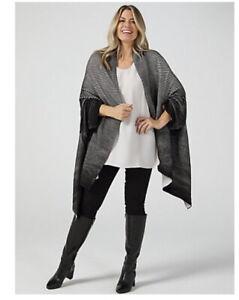 MarlaWynne Luxe Cotton Ottoman Sweater Black 2XL/3XL NEW Rrp £89