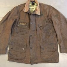 Rare Barbour International Steve McQueen wax jacket size medium