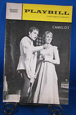 """Vintage Playbill """"CAMELOT"""" for The Majestic Theatre July 24, 1961 Check it @UT!!"""
