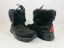 604c2ea96872 Nike Kaishi Winter High Brown Ankle Boot Womens Size 5.5