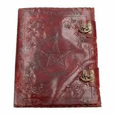 Tagebuch Nemesis Now Buch der Schatten Leder Metallverschluss 36cm Braun  B-WARE