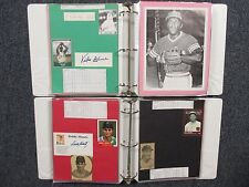 Athletics(2 Notebooks/200 Pages/100 Autographs/280+ Players/Many Obit/JOE HAUSER