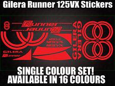 GILERA Runner 125VX calcomanías/Pegatinas-Todos Los Colores Disponibles - 172 183 Gilly