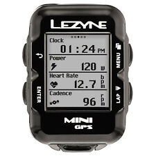 Lezyne Mini GPS Bicycle Computer Black