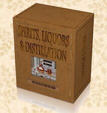 100 Rare Spirit Liquor Distilling Books on DVD - Gin Whisky Moonshine Recipes K6