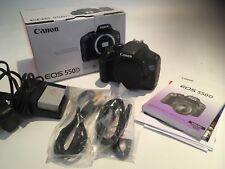 Canon Eos 550D Digital Slr Camera Body Only