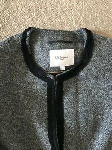 LK Bennett Grey & Black Wool Skirt Suit  - Size 18 BNWT  RRP £440
