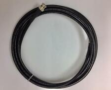 200 Ft HD-SDI 3G-SDI RG6 Coax BNC Male High Definition Video Black Direct Burial