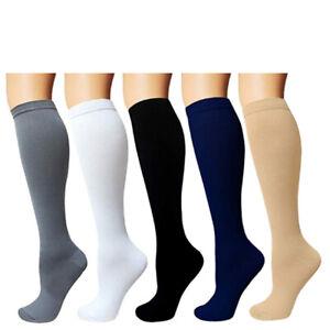 Compression 15-20mmHg Graduated Support Socks Knee Hight Men's Women's (S-XXL)
