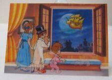 Vtg Disney Peter Pan The Fantastic Dreames Lenticular Card Germany Toppan Stereo