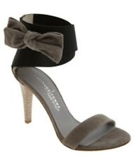 Latitude Femme Bow Trim Sandals Heels Sz 39