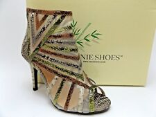 ANNIE Blast Brown snake Breathable women's dress sandals Sz 6.5 M NEW in box 619