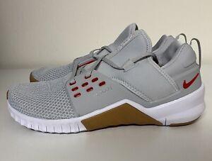 Nike Free Metcon 2 Pure Platinum Mens Sz 12 CrossFit Training Shoes AQ8306-061