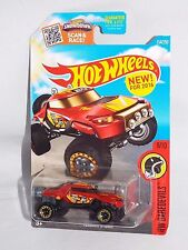 Hot Wheels New For 2016 Target Spring Card #154 Terrain Storm Red w/ BLs