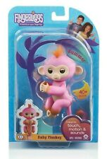 WowWee FINGERLINGS 2Tone Monkey SUMMER Interactive Toy (Pink & Orange)