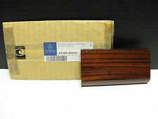 OEM Mercedes Benz New Zebrano Wood Ashtray Housing Top Covering Trim  W124 85-96