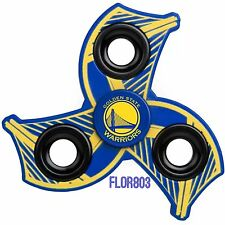 Golden State Warriors NBA Three Way Molded Logo Fidget Hand Spinner