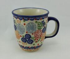 Bunzlauer Keramik Tasse MARS, Becher, bunt, signiert - 0,3 Liter (K081-KOKU)