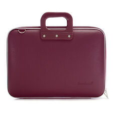 "Bombata - Purple Classic 15"" Laptop Case/Bag with Matching Shoulder Strap"