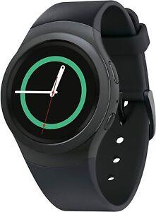 Samsung Gear S2 SM-R730T T-Mobile Smartwatch - Dark Gray
